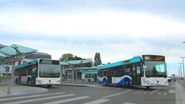 Mercedes Citaro 2 N, Gares