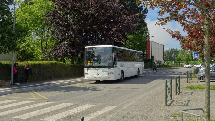 Mercedes Intouro du réseau MAT, Collège Paul Feval.