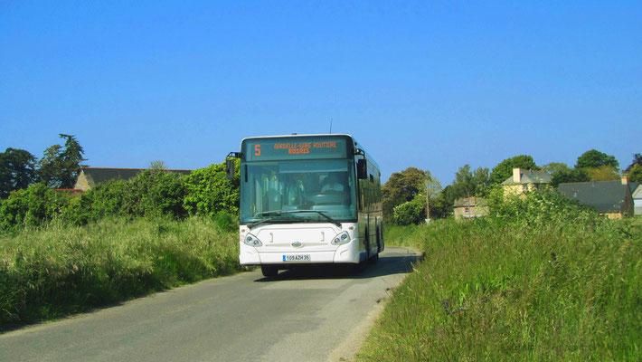 Heuliez Bus GX127 N°21, Petit Paramé