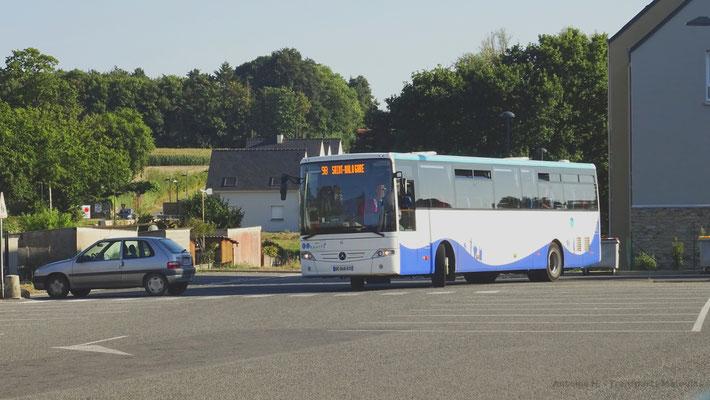 Mercedes Intouro du réseau MAT, La Gouesnière Centre.