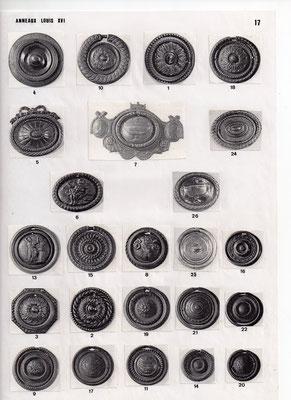 Macarons, anneaux louis XVI
