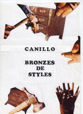 Catalogue modèles bronzes d'ameublement