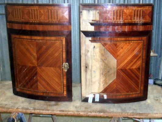 Portes de cotés en restauration