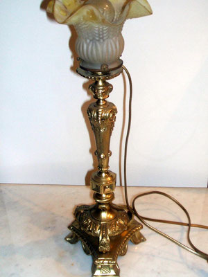 lampe XIX-bronze-120€