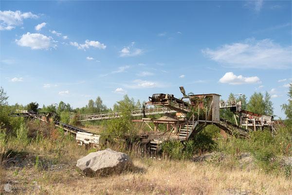 Oker Steinfeld / Goslar  - Reste vom Kieswerk - Foto: Regine Schadach - Olympus OM-D E-M5 Mark II - M.ZUIKO DIGITAL ED 12‑100 1:4.0 IS PRO