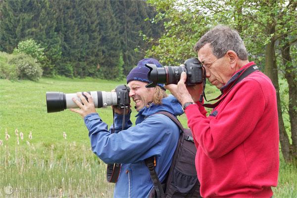Naturgucker bei der Arbeit. Foto: Regine Schadach - Olympus OM-D E-M5 Mark II - M.ZUIKO DIGITAL ED 12‑100 1:4.0 IS PRO