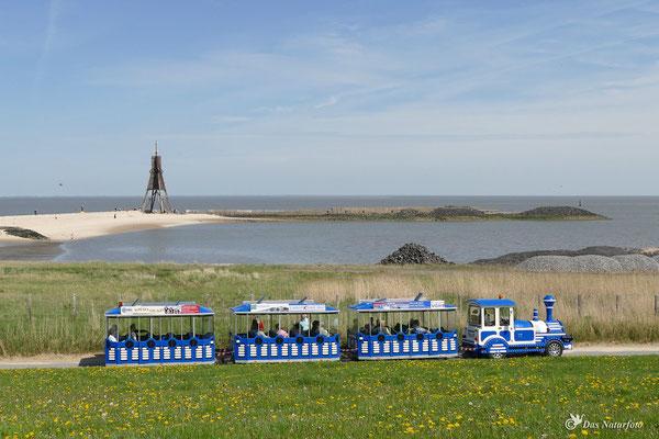 Kugelbake Cuxhaven - nördlichster Punkt von Niedersachsen Bild 003 Foto: Regine Schadach