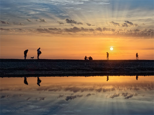 Sunset - Dänemark / Westjütlandküste / 1- Foto: Regine Schadach Olympus OM-D E-M5 Mark II - M.ZUIKO DIGITAL ED 12‑100 1:4.0 IS PRO
