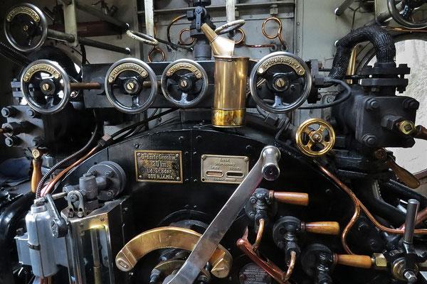 Führerstand der Mallettlokomotive 99 5901 - Bild021 - Foto: Christian Braun