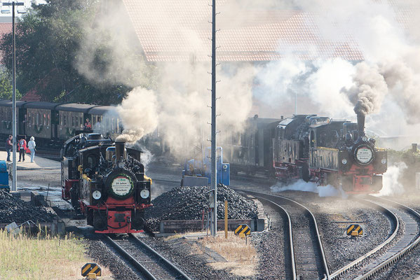Sonderzüge; 20 Jahre Wiedereröffnung des Zugverkehrs zum Brocken in Wernigerode 2011 Bild 031 Foto: Volker Schadach