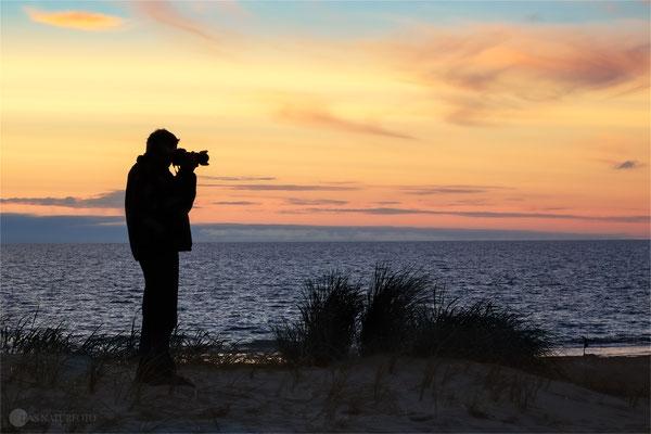 Sonnenuntergang an der Westjütlandküste bei Vrist - Dänemark - Bild 016 Foto: Regine Schadach Canon EOS 5D Mark III Canon 100-400mm EF f4.5-5.6L IS
