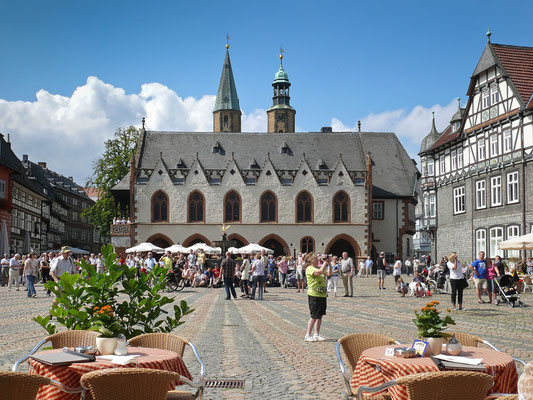 Marktplatz Goslar - Foto: Regine Schadach