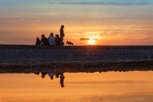 Sunset - Dänemark / Westjütlandküste / 2 - Foto: Regine Schadach Olympus OM-D E-M5 Mark II - M.ZUIKO DIGITAL ED 12‑100 1:4.0 IS PRO