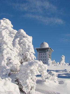 Auf dem Brocken - Blick zum Brockenhotel - Foto: Christian Schulz