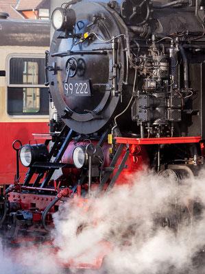 Harzer Schmalspurbahnen - im Bahnhof Wernigerode - Bild 007 - Foto: Regine Schadach