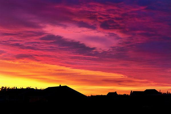 Sonnenuntergang an der Westjütlandküste bei Vrist - Bild 010 - Foto: Regine Schadach