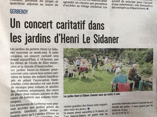 29 avril 2017 - Ouverture des Jardins Henri Le Sidaner