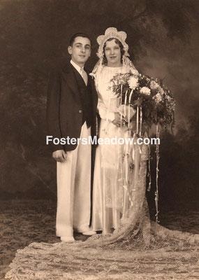 Kalb, Herbert & Eifer, Claire - June 2, 1935 - St. Catherine of Sienna, Franklin Square