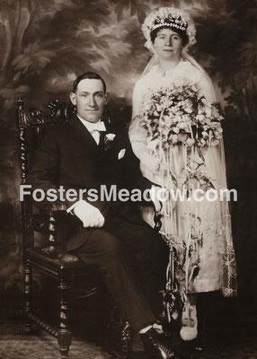 Kiesel, John & Froehlich, Emma - April 21, 1920 - Location unknown