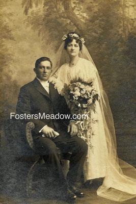 Krummenacker, Frank C. & Hauck, Margaret - circa 1917 - Location unknown