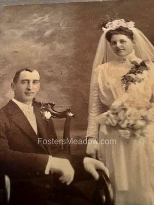 Herman, Henry P. & Zimmerman, Anna Maria - Feb. 14, 1909 - St. Monica's RC Church, Jamaica, NY