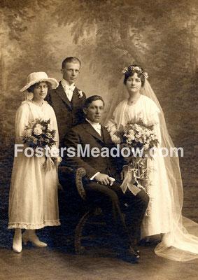 Krummenacker, Frank C. & Hauck, Margaret - abt 1917 - Location unknown