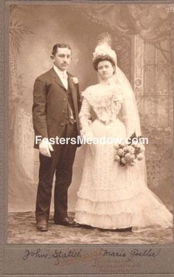 Stattel, John D. & Goeller, Marie - Jan 22, 1902 - St. Boniface