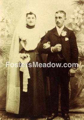 Krummenacker, Peter & Clark, Emma - abt 1898 - Location unknown