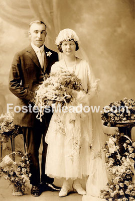 Schmitt, Ferdinand P. & Froehlich Mary (Mamie) T. - June 25, 1924 - Location not known