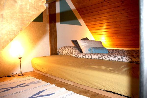Schlafzimmer Wohnzimmer- Empore