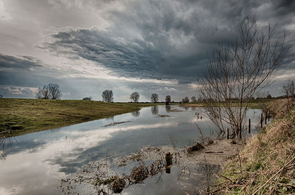 Entlang der Maas Höhe Cuijk, NL