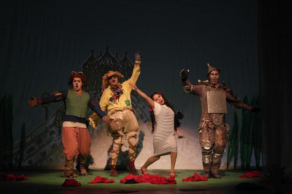 Dorothy <Der Zauberer von Oz> (Theater Freiberg, 2015/16) Foto: Jörg Metzner