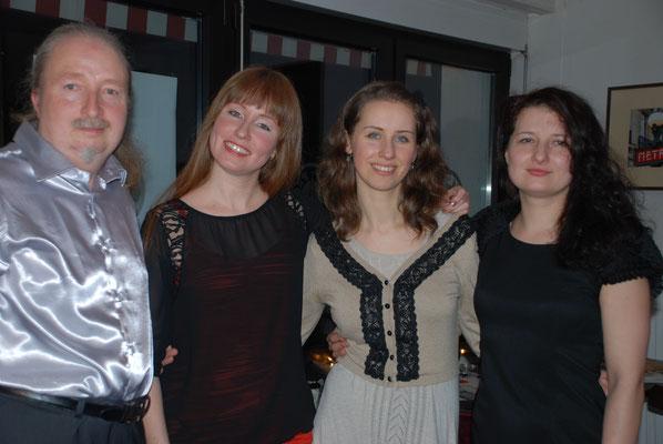 KuBe Konzert Vida Bela, am 20. Februar 2015 im Café de Paris Saarbrücken/ Nauwieser