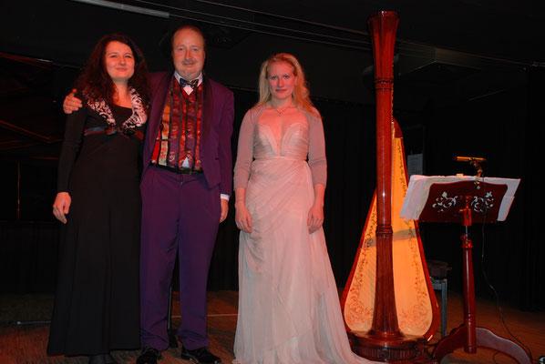 KuBe Konzert Engelsmelodien in der Breite 63. Natalia Malkova, Michael Britz und Victoria Kunze 07. Dezember 2013