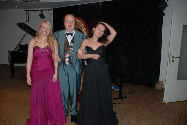 """KuBe Konzert """"Engelsmelodien"""", Victoria Kunze, Michael Britz und Natalia Malkova im Domicil Leidinger, Saarbrücken. Ein wunderschöner Abend !!"""