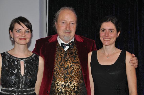 """KuBe Konzert """"Ohne Worte"""", Ania Konieczny, Michael Britz und Verena Jochum am 13. Oktober 2017 im Leidinger."""
