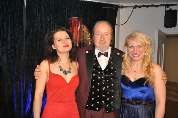 """KuBe Konzert """"Engelsmelodien"""" am 20. Januar 2018 im Leidinger, Saarbrücken, Natalia Malkova, Michael Britz und Victoria Kunze"""