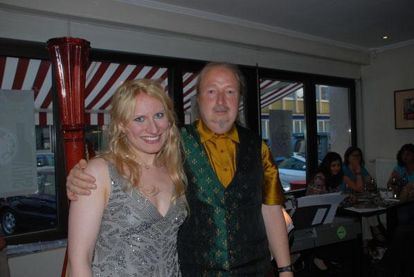 KuBe Konzert Engelsmelodien am 13. Juni im Cafe Paris Michael Britz mit Victoria Kunze