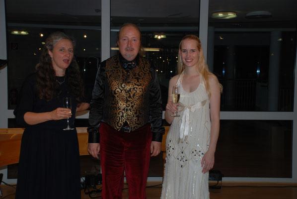 """Christiane Mandernach, Michael Britz und Laura Demjan am 28. September 2014 im Rathaus Riegelsberg beim KuBe Barockkonzert """"Lamenti e piaceri della Ninfa"""". Es war wunderschön !!!!!!!!!!!!!!!!!!"""