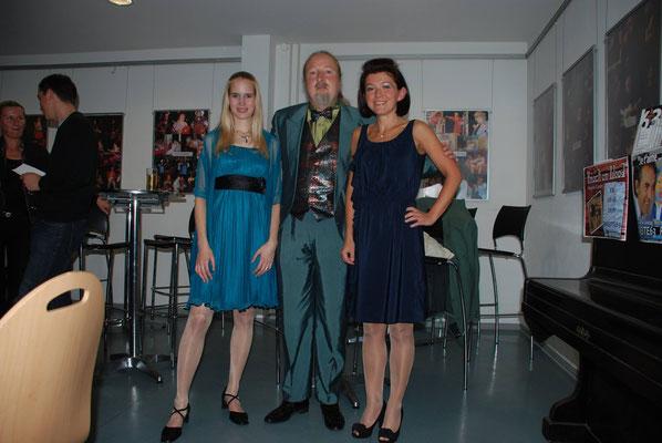 """KuBe Konzert """"Ich bin die Blum im Garten"""", Breite 63, Laura Demjan (Sopran), Natalya Chepelyuk (Klavier)  mit Michael Britz am 14. Oktober 2011"""