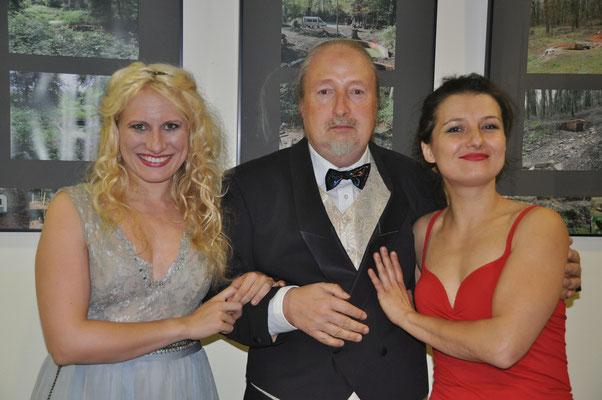 KuBe Konzert: L' Arpa di canto – Die singende Harfe, 15092017, Breite 63, Victoria Kunze, Michael Britz und Natalia Malkova.