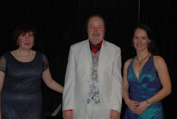 """KuBe Konzert """"Frühlingserwachen"""" mit Almut Hellwig, Marina Kavtaraze und Michael Britz, 30. März 2014 im Hotel Domicil Leidinger"""
