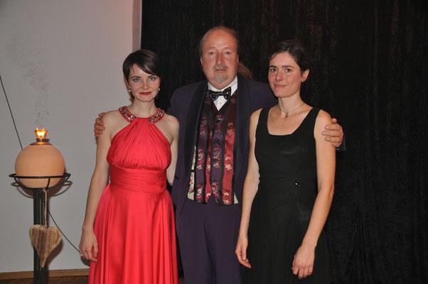 """KuBe Konzert """"Spiel der Elemente"""" am 06. November 2016 im Leidinger mit Ania Konieczny, Michael Britz und Verena Jochum"""