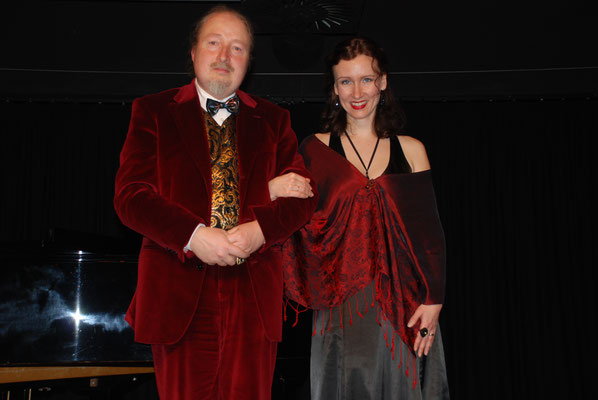 """KuBe Konzert """"Zigeunermelodien"""", Marion Wildegger Bitz und Michael Britz am 16. Februar 2013 in der Breite 63"""