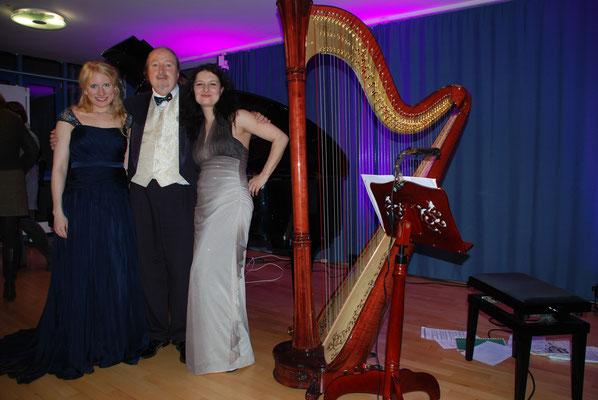"""KuBe Konzert """"Engelsmelodien"""", Victoria Kunze, Michael Britz und Natalia Malkova, Rathaus Riegelsberg. 12.12.2014"""