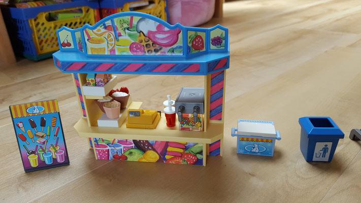 Der Süßwarenstand im Playmobil-Freizeitpark
