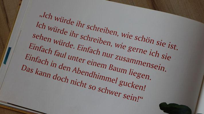 """Buchseite aus dem Buch """"Die Geschichte vom Löwen, der nicht schreiben konnte"""""""