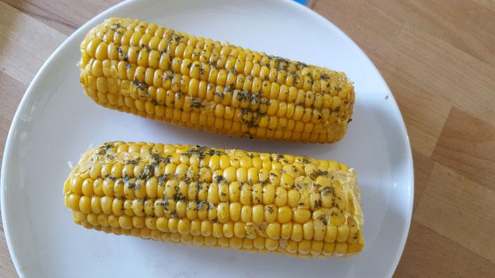 gegrillter Mais