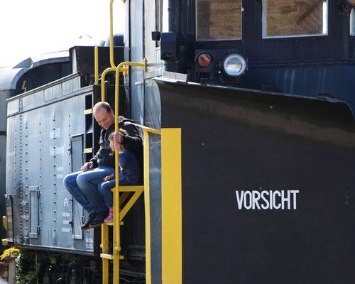 Die Loks erobern beim Dampflokfest Kranichstein