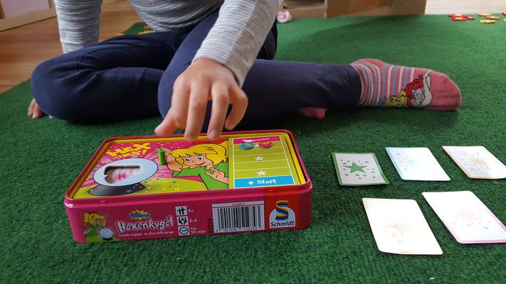 """Wir spielen """"Bibi Blocksberg - Die Hexenkugel"""" von Schmidt-Spiele"""